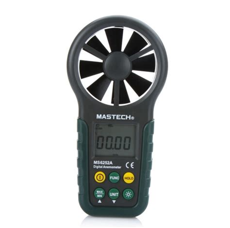 multifunction digital anemometer wind speed meter air