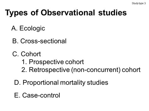 types of cross sectional studies epidemiology design and bias evaluation fall ppt download