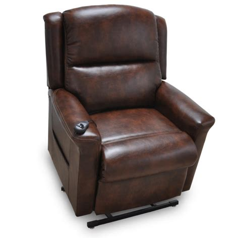 franklin recliner 486 province faux leather lift recliner franklin