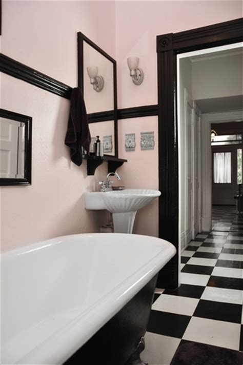 pink black and white bathroom decor girl s pink and black bedroom bath make over on pinterest