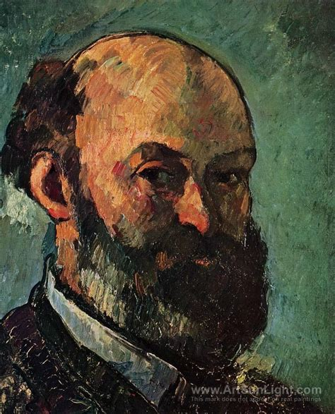 cezanne by himself drawings self portrait paul cezanne oil painting reproduction