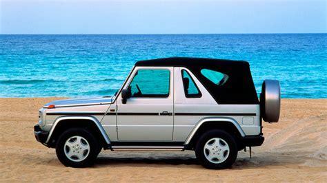 mercedes jeep convertible mercedes considering convertible suv autoblog