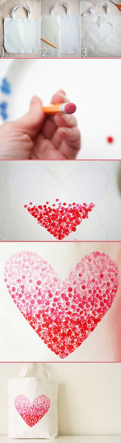A Practical Pantied Valentines by Diy Painted Bag Yeahmag