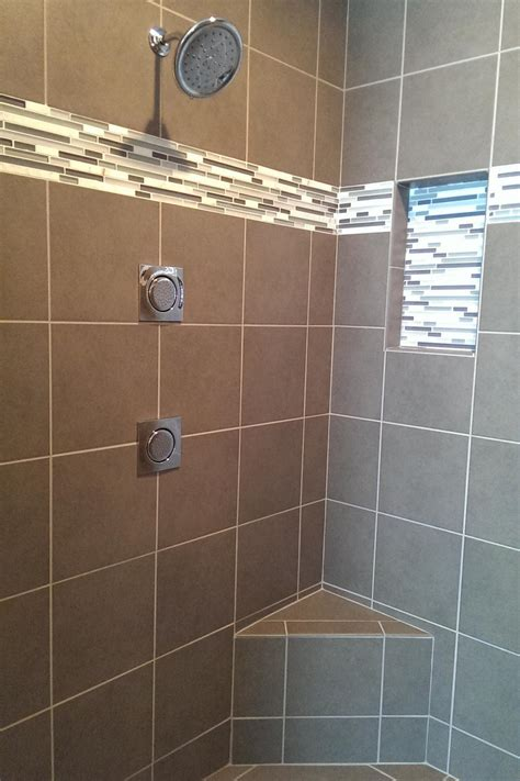 shower accent tile photo page hgtv