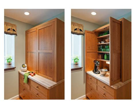 Closed Cupboard Custom Pantry Cabinetry Kitchen Pantry Pantry Cabinets