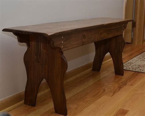 charles neil inspired  board bench woodworking talk