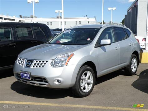 silver nissan rogue 2008 silver ice metallic nissan rogue sl awd 28364313
