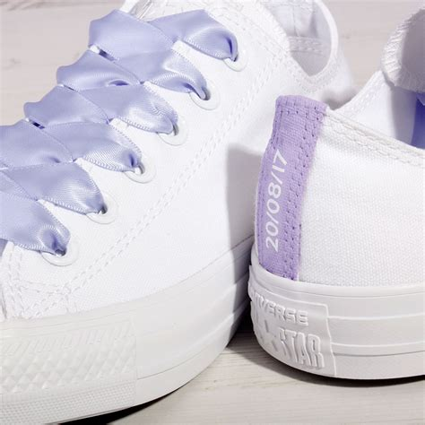 Lilac Shoes For Wedding by Lilac Purple Converse Custom Wedding Converse