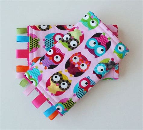I Teething Pad Pink baby carrier teething drool pads owls pink fits