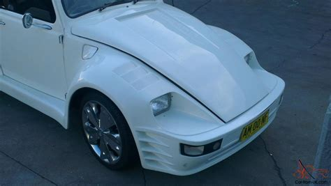 porsche beetle conversion vw convertible beetle 1970 rare with porsche body kit very