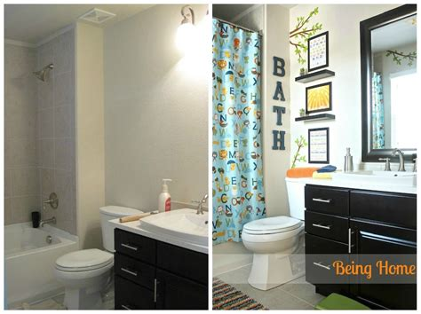 Bathroom Ideas For Boys | boy bathroom before and after boy bathroom before and after