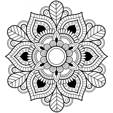 mandala coloring page 44 printable mandala coloring pages