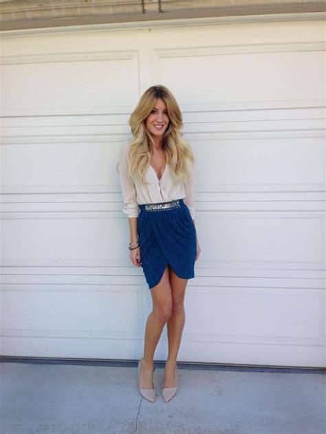 blue skirt cobalt blue skirt 25 ways to wear cobalt blue skirt