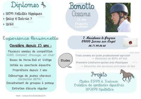 Exemple De Lettre De Motivation Couvreur Zingueur exemple cv equitation