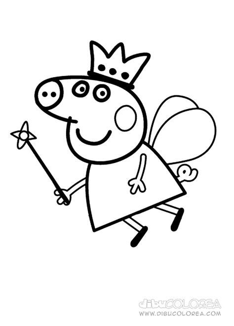 dibujos para pintar pepa peppa pig para colorear club peque club peque