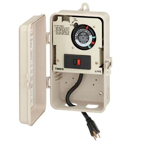 intermatic portable time clock a g p1261p