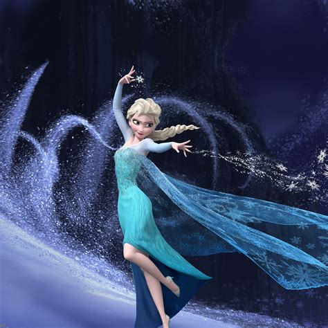 wallpaper iphone 5 frozen freeios7 frozen elsa parallax hd iphone ipad wallpaper