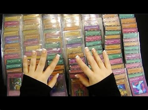 how to make holographic cards binaural asmr 100 holographic yu gi oh cards