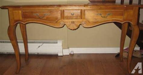 ethan allen sofa table ethan allen oak sofa table console for sale in