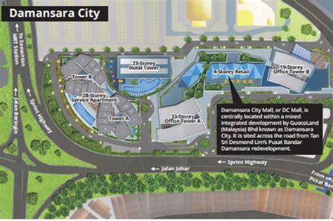 Open Concept Floor Plan guocoland s options open on monetising damansara city mall
