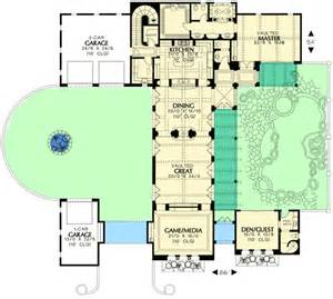 Rest House Design Floor Plan elegant mediterranean home with guest house 16380md 1st floor