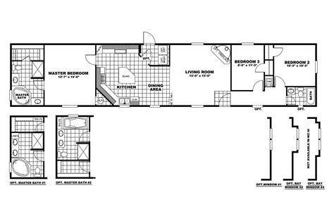 manufactured home floor plan manufactured home floor plan 2010 clayton saratoga 35sar16763ch10
