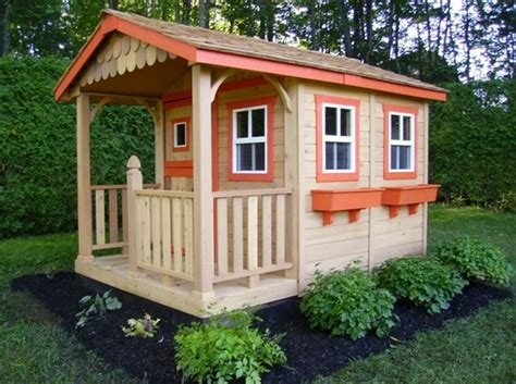 outside playhouse plans diy designs kids pallet playhouse plans wooden pallet