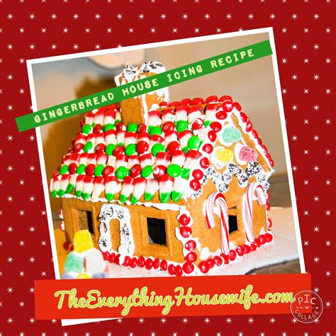 gingerbread house icing gingerbread house icing the everything housewife com