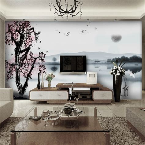 living room mural exquisite wall coverings from china
