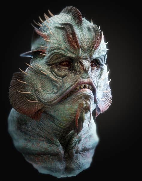 biography of movie creature 3d sketchbook 2013 kevin demuynck character artist