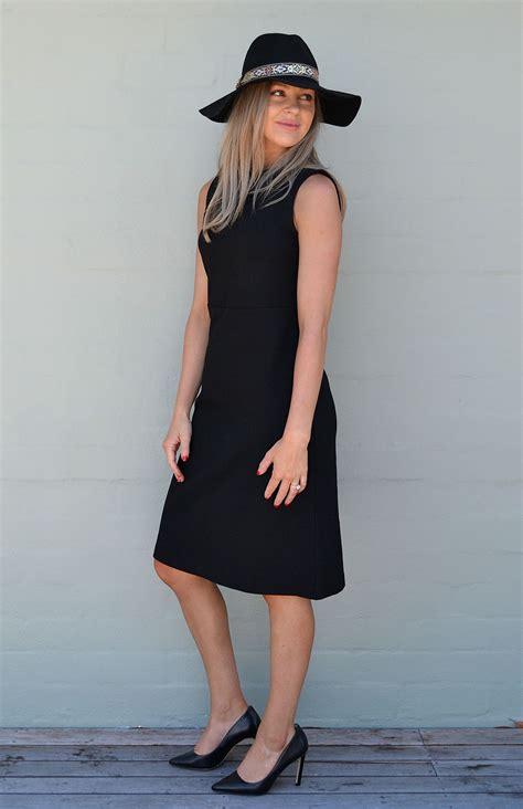 Tasmania Dress asha dress s black wool dress smitten