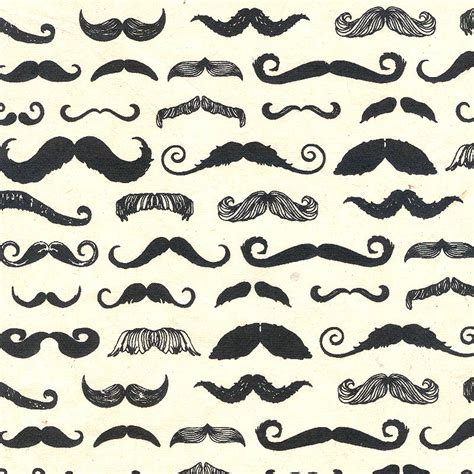 How To Make A Mustache Out Of Paper - paper cutting gifts model