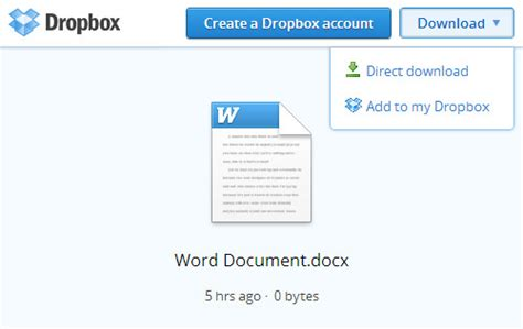 dropbox download how to share dropbox files on your facebook group hongkiat