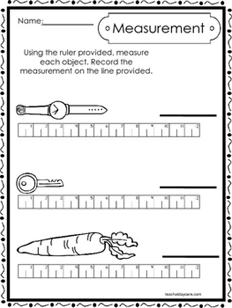 10 printable measuring with a ruler worksheets
