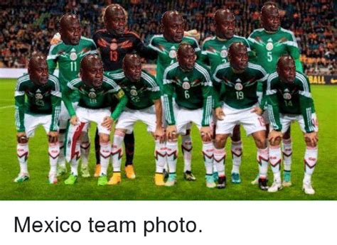 Mexico Soccer Memes - hall mexico team photo soccer meme on sizzle