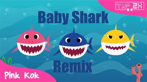 Baby Shark Song Remix | baby shark remix edm version of baby shark animals
