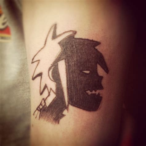 gorillaz tattoo 2d gorillaz tatuajesxd