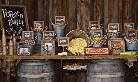 Idee Feste Bar by Catered Popcorn Buffet Popping Bar Groupon