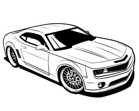 Pin Camaro To Colori Colouring Pages On Pinterest Camaro Coloring Pages