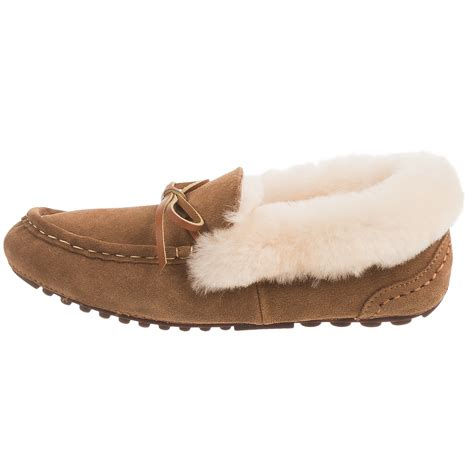 lamo sheepskin slippers lamo footwear mist moccasin slippers for save 73