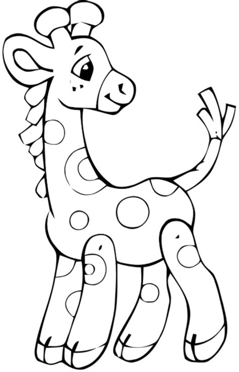 easy baby coloring pages baby giraffe angel babies and gaming