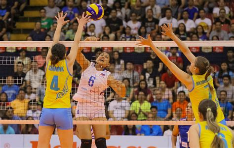 Blockers Philippines Korea And China Dazzle On Second Day Of Preliminary Asian Confederation Avc