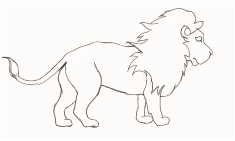 drawing images for kids lion drawing for children