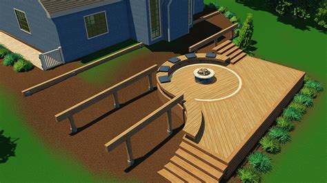 best 3d patio design software free in category pat 20781 vizterra 3d deck design software structure studios