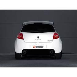 Renault Clio Exhaust Renault Clio Rs 200 197 Akrapovic Evolution Line Exhaust