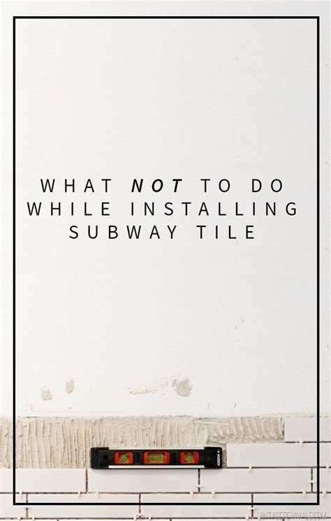 how to install subway tile diy ideas pinterest 1000 images about diy home decor ideas on pinterest