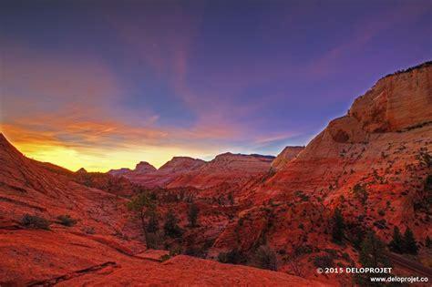 photography  sunset  zion national park