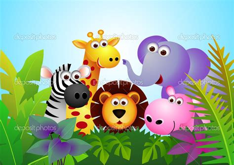 cute animal cartoon wallpapers gallery