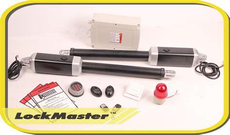 lockmaster swing gate opener etl tuv ce emc lockmaster automatic swing gate opener for