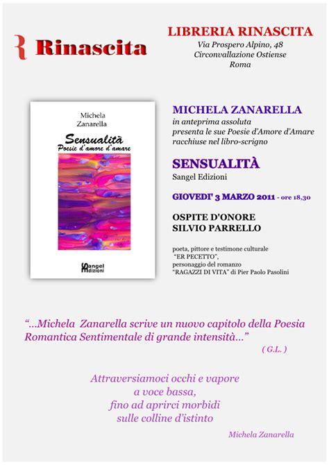 libreria silvio d amico farapoesia presentazione libro quot sensualit 224 poesie d